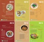 Lịch treo tường về ẩm thực